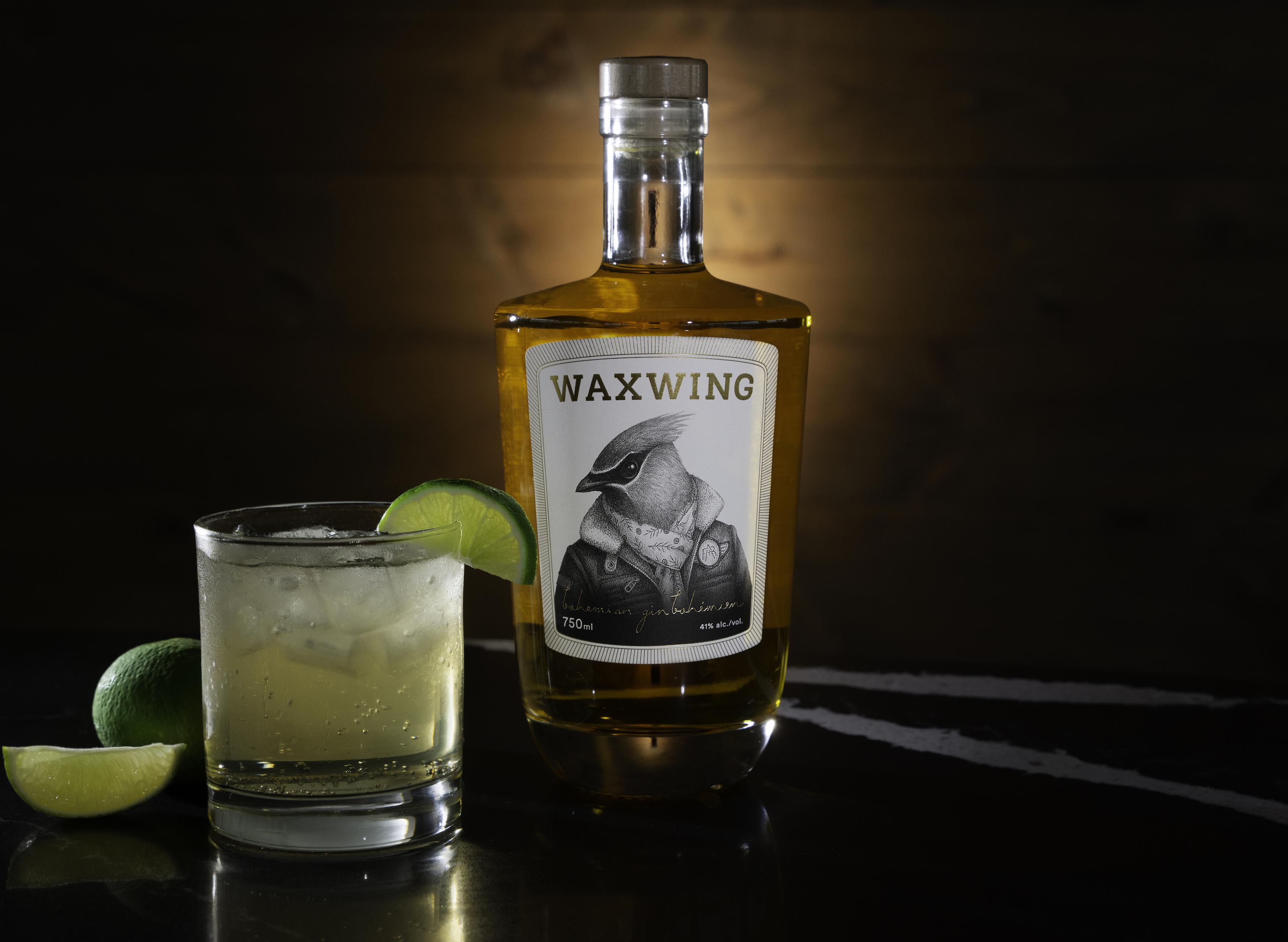 le waxwing  un magnifique nouveau gin fait  u00e0 gatineau